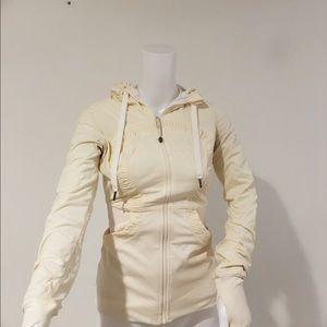 Lululemon Dance studio jacket xs off white jacket